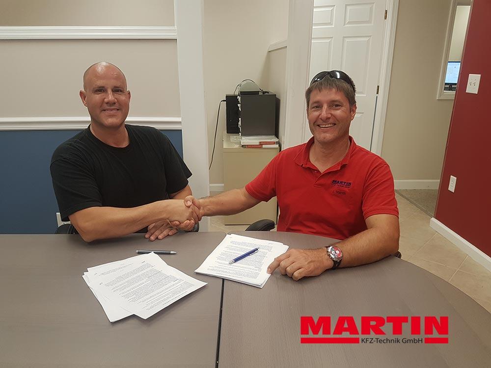 MARTIN KFZ-Technik GmbH nun auch in den USA